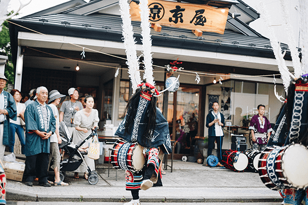 郷土芸能 支援 手拭い 鹿踊り 鹿子躍 伝統芸能