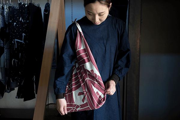 あずま袋 エコバッグ 縁日 en・nichi