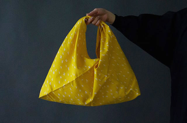 縁日 エンニチ あずま袋 エコバッグ