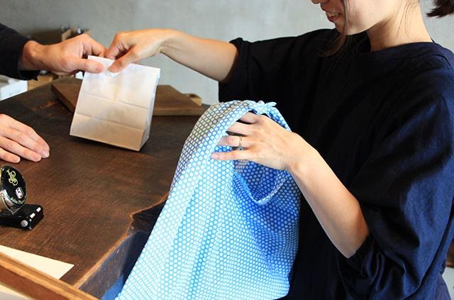 京屋染物店 あずま袋 エコバック