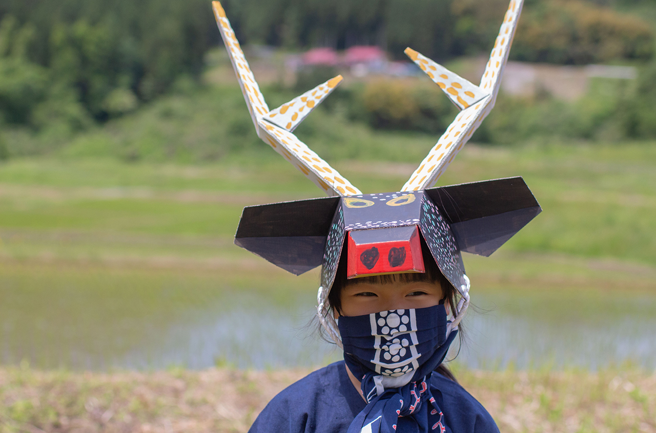 縁日 鹿踊ワークショップ体験キット