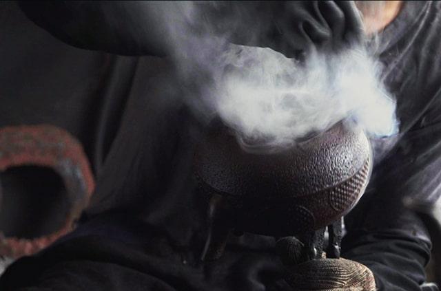 佐秋鋳造所 南部鉄器 鉄瓶
