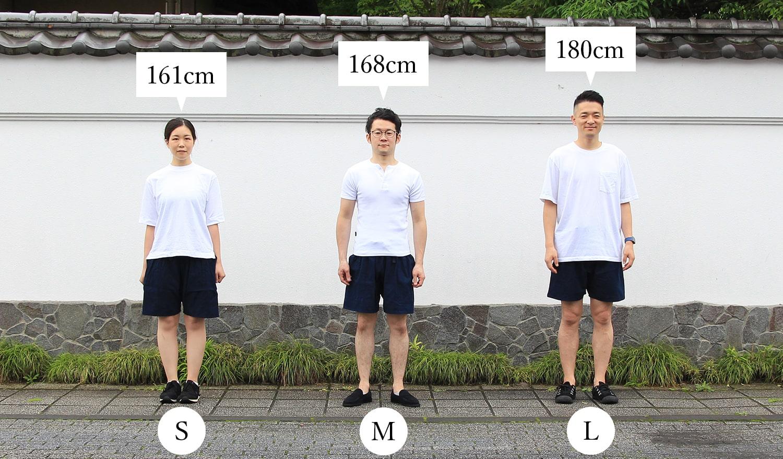 猿袴ショーツ さっぱかまショーツ 着用サイズ
